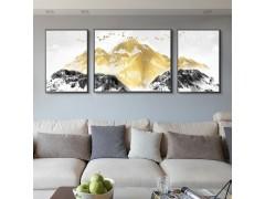 惠飾界背靠金山 質感黑畫框